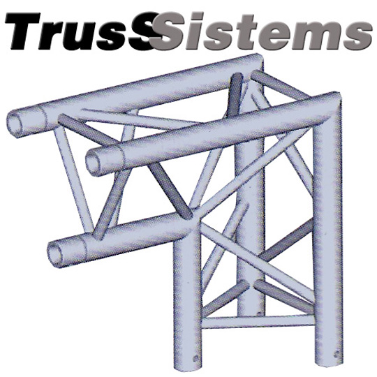 Trio Left Corner Triangular Truss