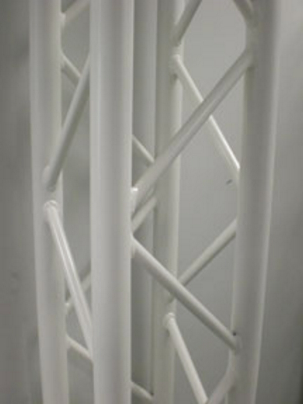 SQ-4112/White 6.56ft Square White Segment